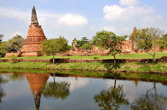 Ram di Wat Wora Chet Tha Immagine Stock Libera da Diritti