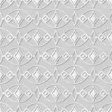 ram Diamond Check Gem för kors för kurva för konst för vitbok 3D oval vektor illustrationer