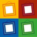 ram för 4 färger Vektor Illustrationer