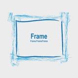 Ram för design Fotografering för Bildbyråer