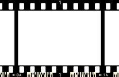 ram för film 3 x1 Arkivfoton