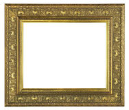 Ram för gammal guld arkivfoto