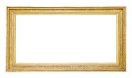 Ram för gammal guld royaltyfri bild