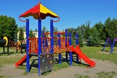 Ram för klättring för barn` s fotografering för bildbyråer