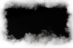 Ram för rökmoln arkivfoto