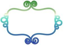 Ram för tappningBannner tråd vektor illustrationer
