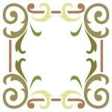 Ram för växtbladgräns Royaltyfri Bild