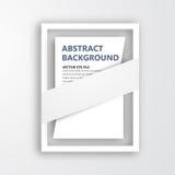 Ram för vektor 3D. Design för bild Arkivfoton
