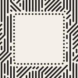 Ram för vektorprickfyrkant vektor illustrationer