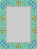 Ram från den traditionella prydnaden Royaltyfria Bilder