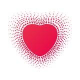 Ram från hjärtor Arkivbilder
