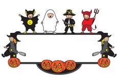 ram halloween royaltyfri illustrationer