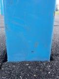Ram i den böjliga tegelplattan för lekplats Böjligt golv arkivbild