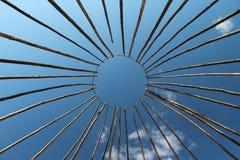 Ram i form av solen Royaltyfria Foton
