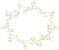 Ram i formen av en runda av bär och Royaltyfri Bild