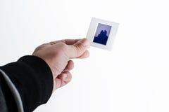 Ram i handen royaltyfria bilder