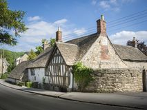 Ram Inn Wotton-under-kant, Gloucestershire, UK royaltyfria bilder