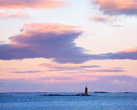 Ram Island Ledge Light Stock Photo