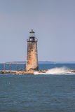 Ram Island Ledge Light - Maine Photo libre de droits