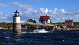 Ram Island Light Foto de archivo