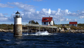 Ram Island Light Stock Photo