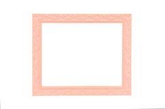 ram isolerad white för bildpinktappning Royaltyfria Bilder