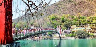 Ram Jhoola Haridwar Rishikesh India 2018 fotografia stock libera da diritti