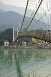 Ram Julla, Rishikesh, Inde La rivière le Gange Photographie stock
