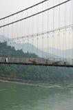 Ram Julla, Rishikesh, India. The river Ganges Royalty Free Stock Image