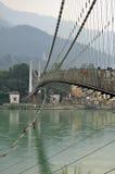 Ram Julla, Rishikesh, India. The river Ganges Stock Photography
