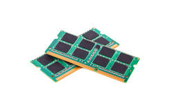 RAM laptop obrazy stock