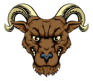 Ram mascot head Royalty Free Stock Photography