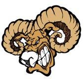 Ram Mascot Vector Logo vector illustration