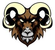 Ram Mean Animal Mascot Fotos de archivo libres de regalías
