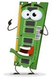 RAM Memory Card Character Fotografia Stock