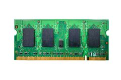 RAM Memory cards for notebook Stock Images