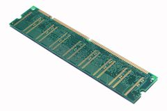 RAM memory chip Stock Photography