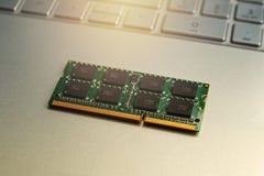 RAM Memory-kaarten voor notitieboekje royalty-vrije stock afbeelding