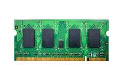 RAM Memory-Karten für Notizbuch Stockbilder