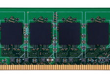 RAM memory module Royalty Free Stock Images