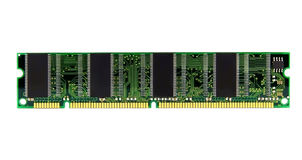 RAM moduł dla komputeru Fotografia Stock