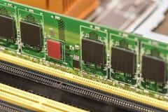 RAM Module Install stockfotos