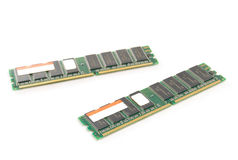 RAM modules Royalty Free Stock Photos