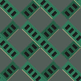 RAM modules pattern vector Stock Photography