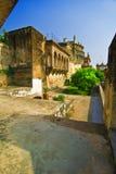 Ram Nagar Fort. In Varanasi, India royalty free stock photo