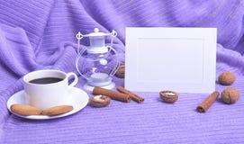 Ram och kaffe Royaltyfri Bild