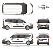 Ram Promaster City Passenger Van 2015 Stock Foto
