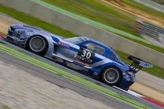 Ram Racing Team Mercedes sls AMG 24 uren van Barcelona Stock Afbeelding