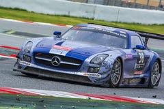 Ram Racing Team Sls AMG de Mercedes Photographie stock