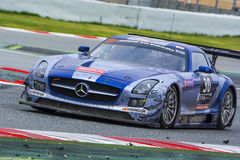 Ram Racing Team Sls AMG di Mercedes Fotografia Stock